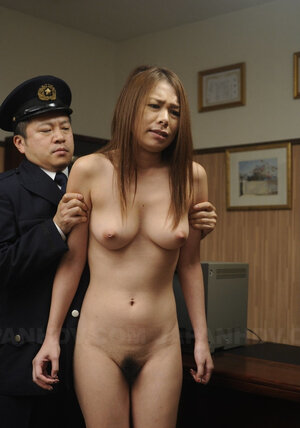 Art of Japanese cumming takes attractive innocent gal to be punished by army guys