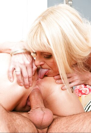 Girlfriends have first-class breasts and older dude can't resist scoring their holes