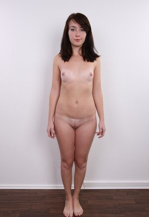 Undersized broad with no boobies hides really nothing and moreover calmly shows off her charms